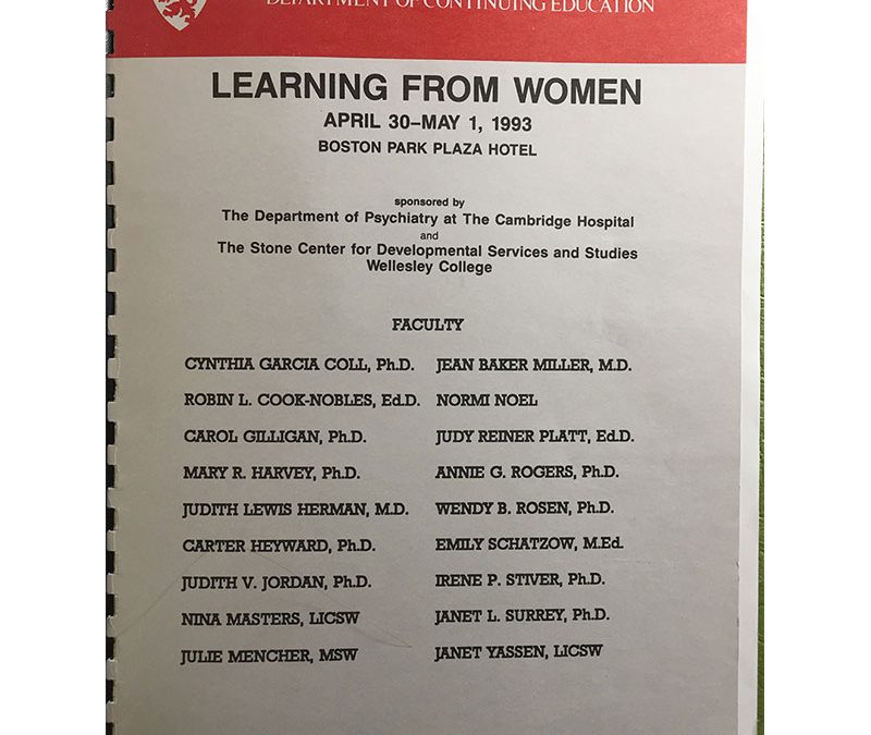 Learning from Women Conferences